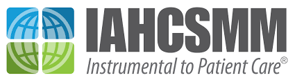 logo for IAHCSMM instrumental to patient care